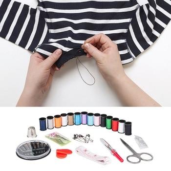 70pcs portable travel sewing kit n