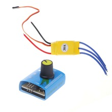 DC12V 30A High-Power Brushless Motor Speed Controller DC 3-phase Regulator PWM