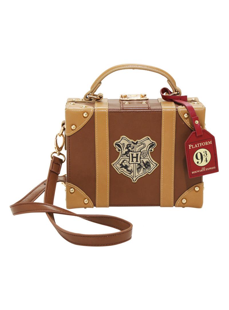 Harry-Potter-Hogwarts-Platform-9-3-4-Trunk-Crossbody-Handbag-Bag-Purse