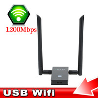 New Design Convenient Wifi Adapter Portable 1200Mbps Network Card Dual Band USB Wireless Adapter With 2
