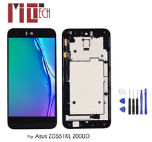 LCD Display For Asus Zenfone Selfie ZD551KL Z00UD Touch Screen Digitizer Glass Assembly with Frame 5.5 1920*1080 30pin lcd display with touch assembly for asus zenbook pro ux501vw 1920 1080