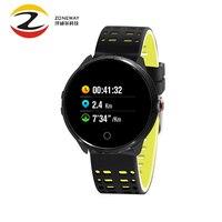 Waterproof IP68 Smart Health Sport Watch Bracelet Blood Oxygen Sleep Monitor Heart Rate Test Warning Wristbands Fitness Tracker