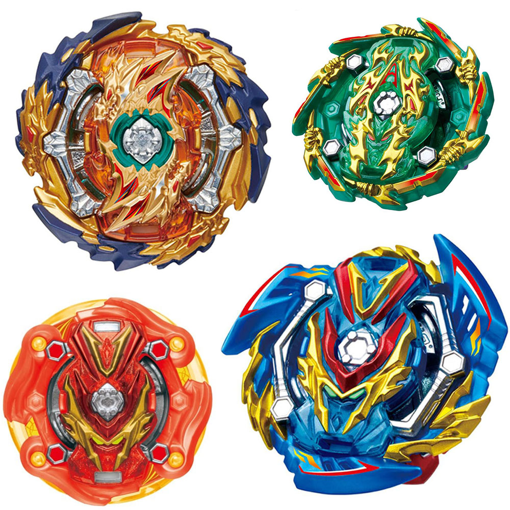 New Launchers <font><b>Beyblade</b></font> B-139 B-140 Toupie Bayblade Metal <font><b>Burst</b></font> God Spinning Top Bey Blade Blades Toy Gold image