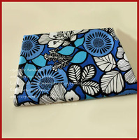 Special Offer 1 Pieces Lot 150x50cm Assorted Cotton Fabric Meter Blue Flowers Series Cute Blue Patchwork
