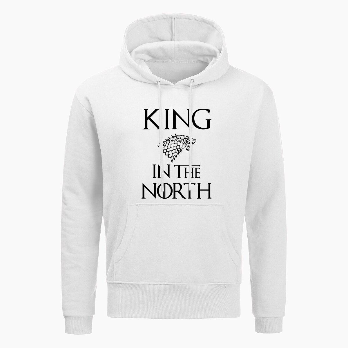 Brand 2019 King In The North Stark Game Of Thrones Mens Sweatshirt Funny Hip Hop Hoodies New Men 39 s Pullover Sweatshirts in Hoodies amp Sweatshirts from Men 39 s Clothing
