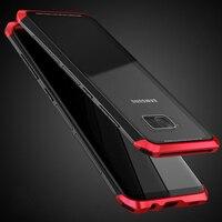 No Screw Aluminum Metal PC 3 In 1 Bumper For Samsung Galaxy S8Plus Case S8 Transparent