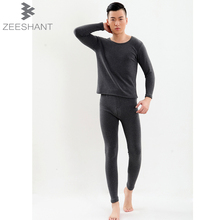 6XL 7XL New 2017 Autumn-winter Men Thermo Thermal Underwears Plus Velvet Long Johns Brand Male Clothing Sets in Men's Long Johns