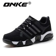 Onke 2017 Men s Sport Running Shoes Breathable Women Sneakers Wholesale Outdoor Sport Runner Shoes Spor