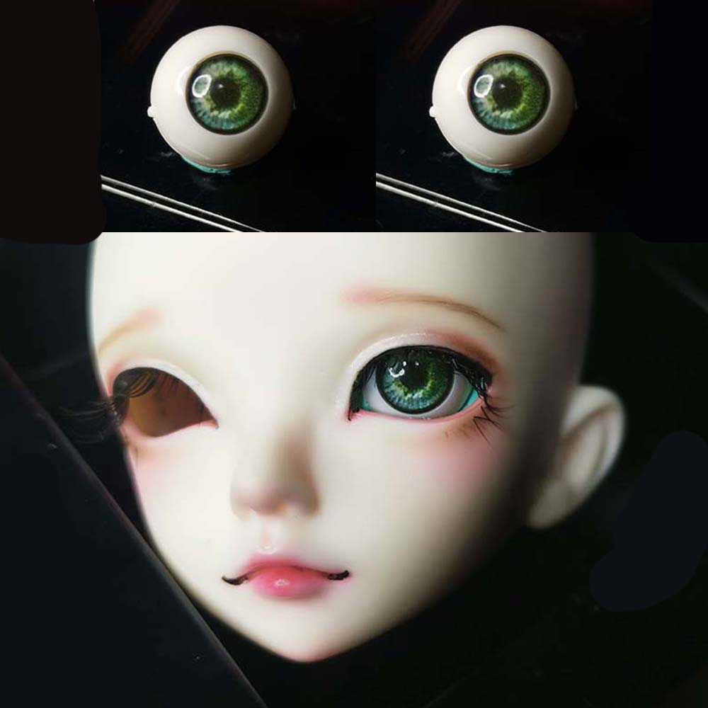 10mm Black eyes for bjd dollfie acrylic doll eyes