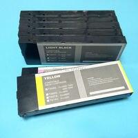 7 farbe 220 ml Volle prefill tintenpatrone mit pigmenttinte für Epson Stylus Pro 9600 tintenstrahldrucker