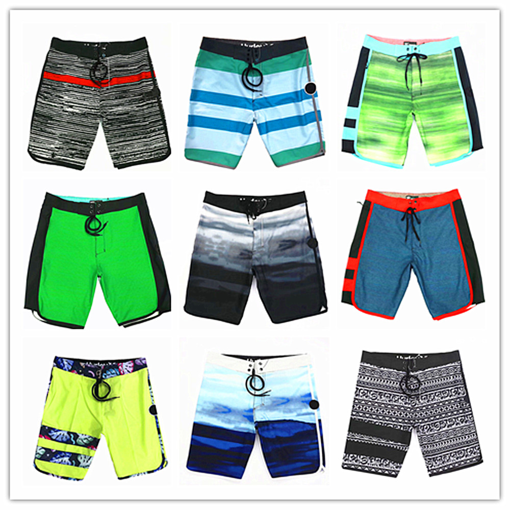 2019 Bermuda Brand Phantom Elastic   Board     Shorts   100% Quick Dry Swimwear Men Sexy Perfect Quality Boardshorts Mens Bathing   Shorts