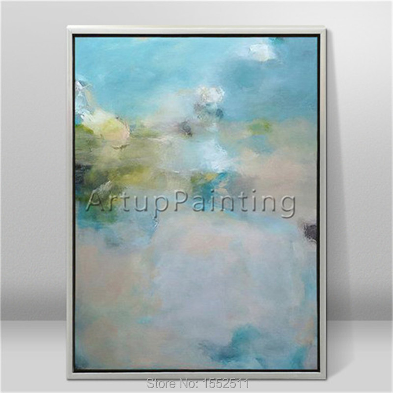 Modern abstract beautiful Colour oil painting Hand painted canvas the sitting room decorative 2