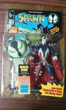 Red Cloak Spin Action Shield/Knife&Giant Special Edition Spawn Comic Book Anime action figure classic toys for boy in box SP0071