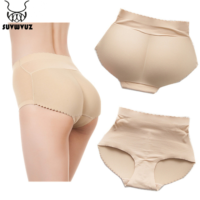 0683e2e42966 2017 Lady Padded Seamless Butt Hip Enhancer Shaper Panties Underwear  Mid-Rise Raised buttocks Briefs