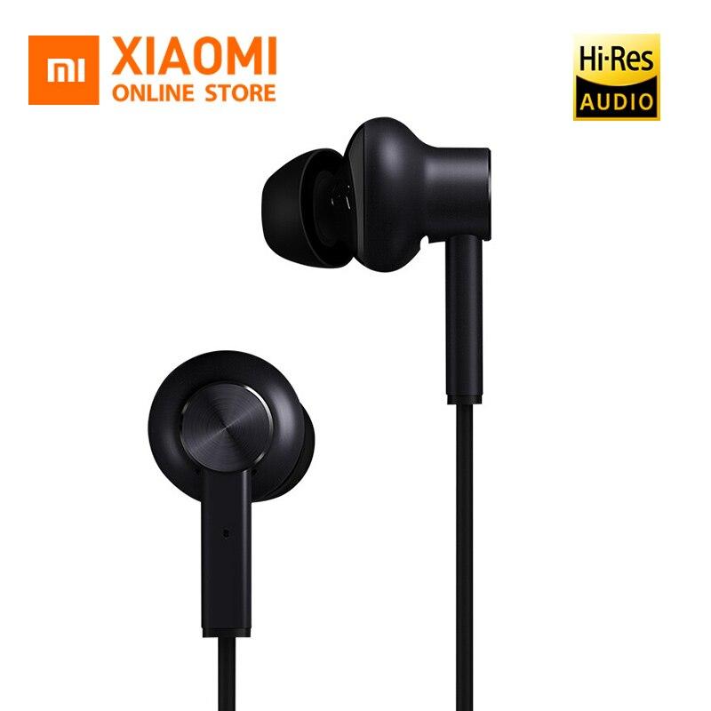 Original Xiaomi Earphone In ear Hybrid Earphones With Microfono Wired Control ANC Active Noise Cancel Earphone