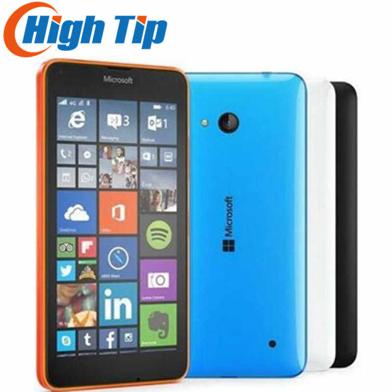 Entsperrt Original Nokia Microsoft Lumia 640 Quad-core 8GB ROM 8MP Windows-handy LTE 4G 5,0 zoll Renoviert dropship