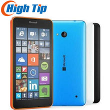 Desbloqueado original nokia microsoft lumia 640 quad-core 8 gb rom 8mp windows celular lte 4g 5.0 polegada remodelado dropship(China)
