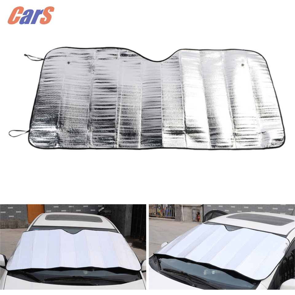 Fenster folien Windschutzscheibe Sonnenschutz Auto Sonnenblende