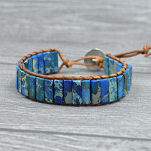 Charm Emperor Stone Bohemia Chakre Bracelet Women Natural For Accessories Jewelry Gifts Woven Bracelets