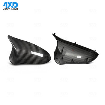 M3 M4 Replacement LHD&RHD For BMW F80 F82 F83 Dry Carbon Fiber Rear Side View Mirror Cover Caps 2014 2015 2016 2017 2018 2019