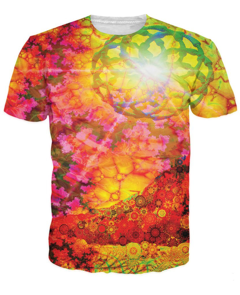 Bright coloured shirts reviews online shopping bright for Neon coloured t shirts