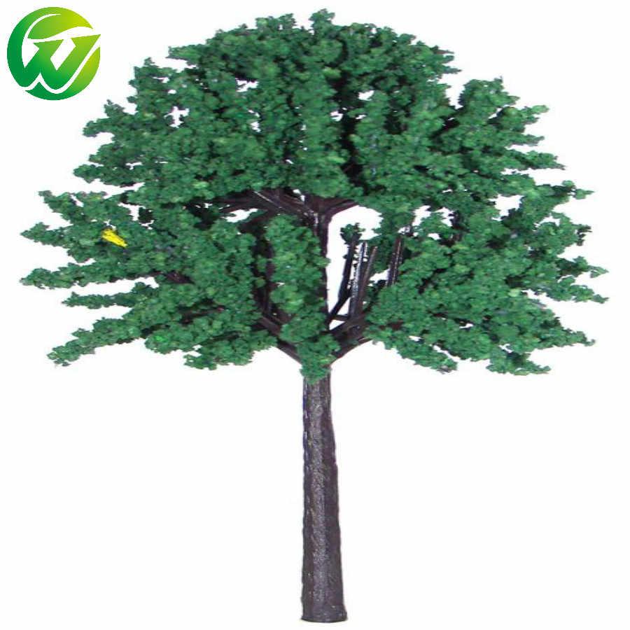100 pcs/lot model green tree mature for Train Set Scenery Landscape railway layout and kits toys