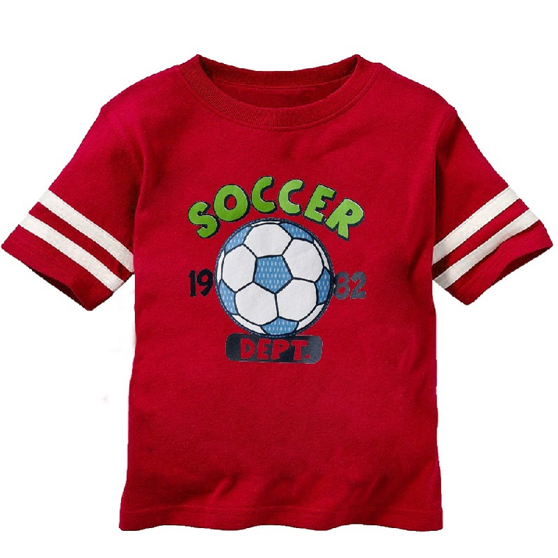 2016 Brazil World Cup Soccer Baby Boys T-Shirts Children Clothes Summer Short Sleeve Boy Outerwear T Shirts For Boy Tops Jersey