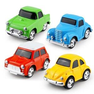 Image 1 - Mini voiture en alliage moulé sous pression, modèle de voiture pour garçons, Collection de voiture, petit véhicule, piste de course, Simulation de cadeau