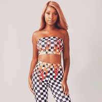 2018 New Fashion Bodysuits Women Sexy Club 2 Pieces Jumpsuits Lady Party Bodycon Plaid Print Rompers Summer Vestido Playsuit