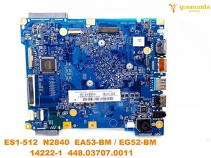Image 2 - original for ACER ES1 512  laptop motherboard ES1 512  N2840  14222 1  448.03707.0011  tested good free shipping