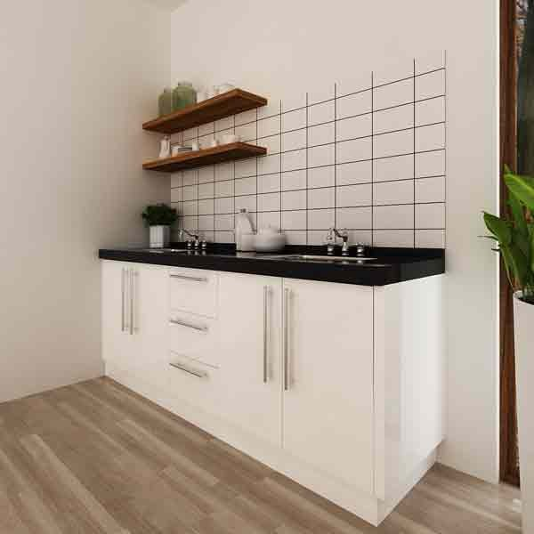 Australia Project Commercial Design Modern Simple Kitchen Cabinet In