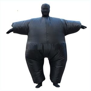 Image 3 - Adult Anime Cosplay Chub Inflatable Costume Blow Up Color Full Body Paty Costume Jumpsuit 9 Colors Halloween Cosplay Costumes