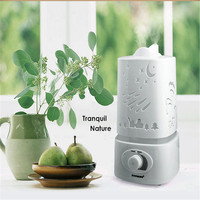Hot Sale 1.5L Ultrasonic Ionizer Humidifier LED Night Light Home Aromatherapy Air Diffuser Purifier Aroma Atomizer