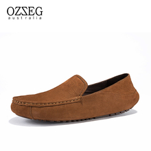 Genuine Leather Men Loafers Spring and Autumn Comfortable Casual Shoes Men Moccasins Shoes Driving Footwear Men's Flats Shoes northmarch spring fashion casual driving shoes genuine leather men shoes breathable comfortable flats shoes men herenschoenen