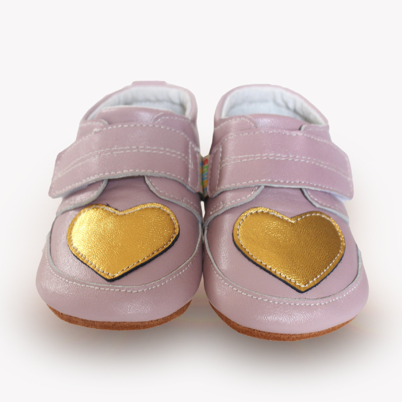 New healthy First Walkers elastic Genuine Leather Baby Shoes Hard bottom Toddler Baby moccasins Baby gils Shoes