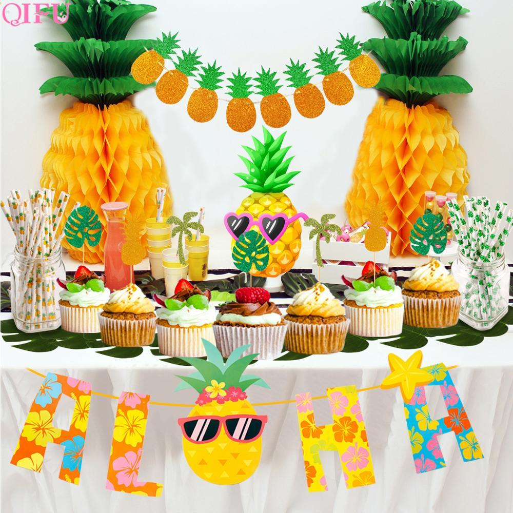 атрибуты для вечеринки в гавайском стиле фото этого