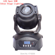 8pcs/lot Free Shipping New Hot-sale 90W LED Spot Moving Head Light/USA Luminums 90W LED DJ Spot Light