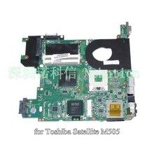 laptop motherboard for toshiba satellite M505 H000013190 PN 08N1-0B23G00 gl40 ddr2
