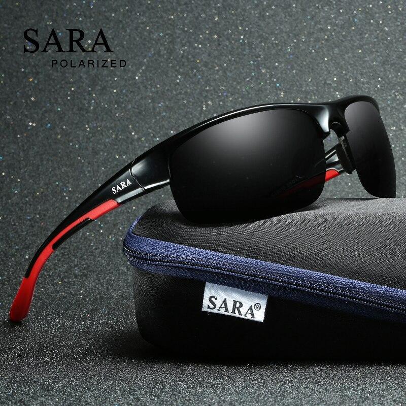 SARA Polarizada óculos de Sol Das Mulheres Dos Homens do Esporte De Condução  Óculos De Sol Para Homens de Alta Qualidade Barato Marca de Luxo Grife  Oculos ... f0fe73656d