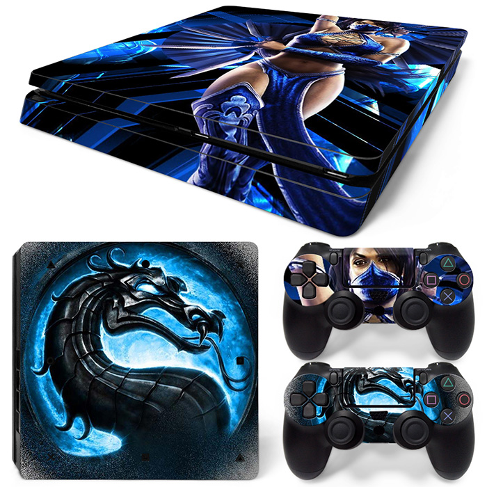 Free Drop Shipping Designer for Decal Style Skin sticker for PS4 SLIM Controller - Decals for Playstation 4 Games - Sticker