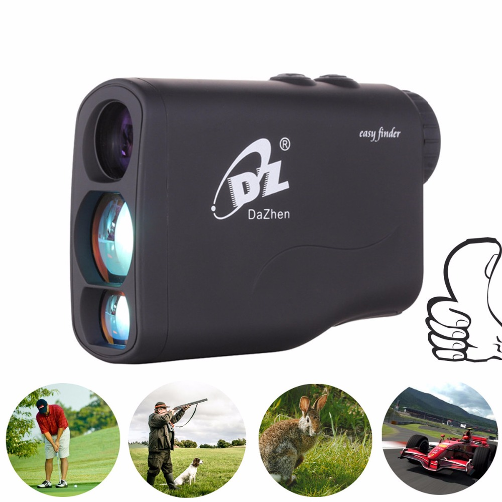 Hunting Rangefinder Golf Laser Range Finder 1000m 600m Laser Distance Meter Monocular with Scan Speed Measurement Optic 1200Y 1000m waterproof golf laser rangefinder ranging speed height angle measurement handheld distance meter with flagpole lock