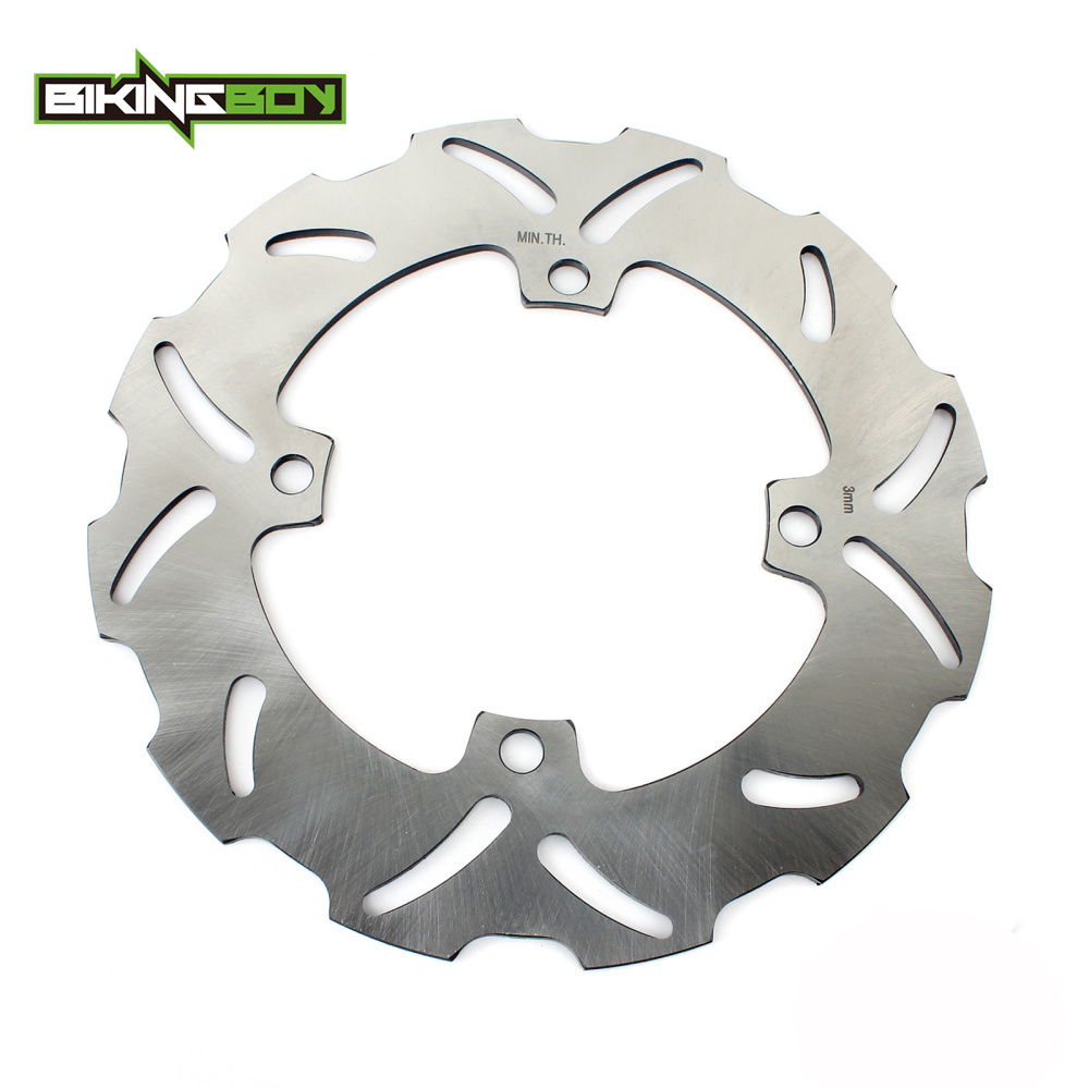 BIKINGBOY OD238.5mm Rear Brake Disc Rotor Disk For SUZUKI RMZ 250 RM-Z250 2004 2005 2006 RM-Z 250 04 05 06 RMZ250 2004-2006