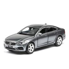S90 Alloy Car Toys Imitates Real Model Car 6-door Acousto-optic Echo Toy Car Acousto-optic Echo Function 6-door Can Be Open 1:32 цена в Москве и Питере