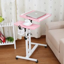 Multi-functional simple modern mobile bedside computer desk sofa table, simple household notebook small table free shipping(China)