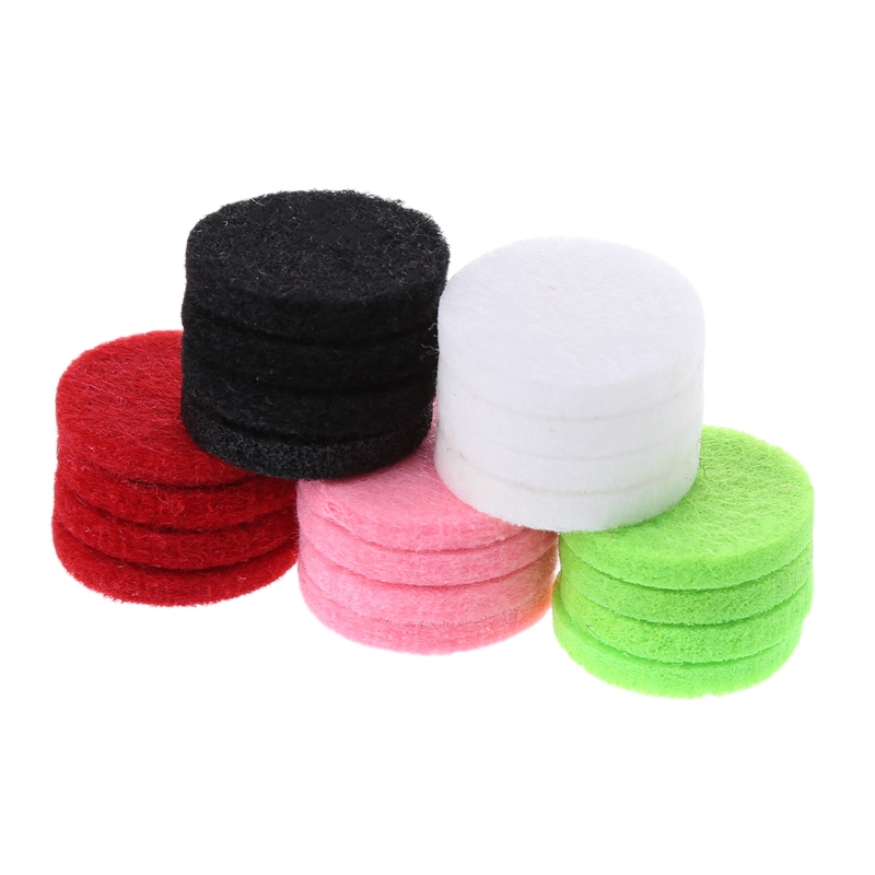 20pcs lot 22mm Aromatherapy Essential Oil Diffusion Perfume Refill Replace Pads in Air Freshener from Automobiles Motorcycles