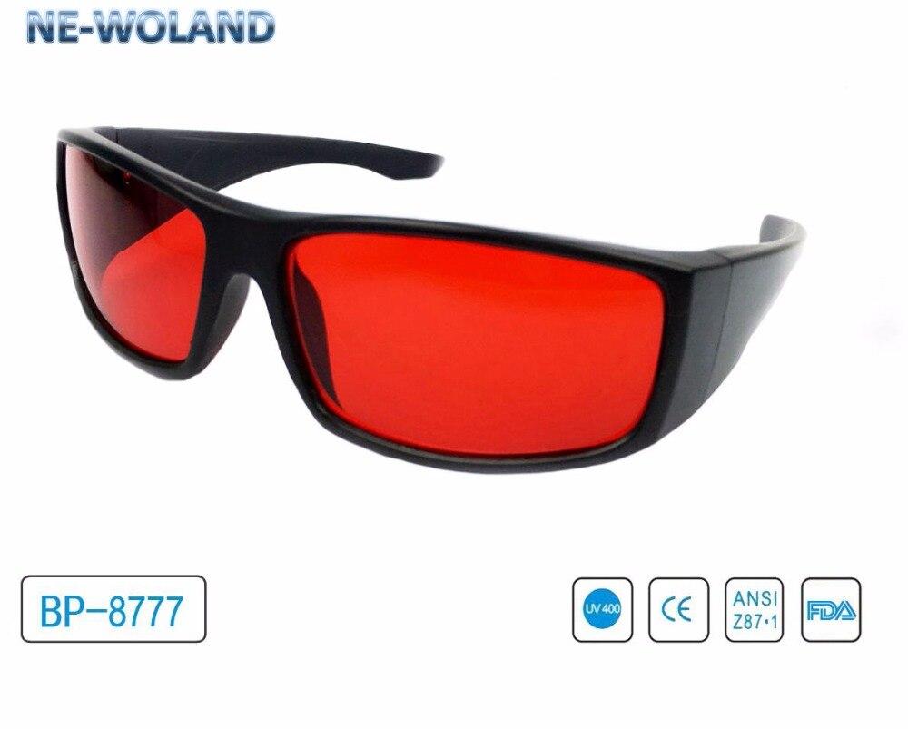 Lunettes correctrices de cécité de couleur rouge et verte lunettes de soleil à store de couleur.