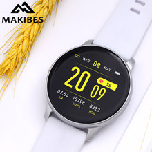 Makibes KW19 blood pressure wrist band heart rate monitor Smart bracelet watch Activity fitness tracker health wristband(China)