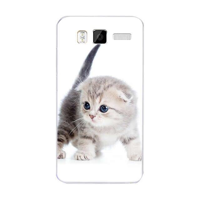 Милый чехол с принтом кошки с животными для lenovo A916 A 916, чехол с мультяшным дизайном, мягкий силиконовый чехол для телефона lenovo A916