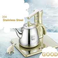 Electric kettle Automatic upper water electric 304 stainless steel boiling tea ware|electric kettle|kettle electric|automatic kettle -