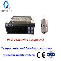 ZL-7801A, 100-240Vac, универсальный автоматический инкубатор, контроллер инкубатора, температура влажности для инкубатора, Lilytech